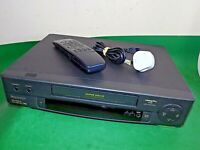 PANASONIC NV-HD610B VCR VHS VIDEO CASSETTE RECORDER Vintage Black Fully Working