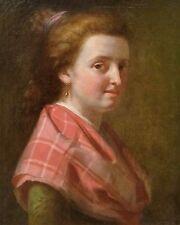 Ecole Inglese Del XVIII Secolo - Ritratto Di Donna scozzese - dipinto