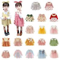 Girls Baby Princess Dress Kids Clothing Skirt Infant Toddler Party Dress Clothes
