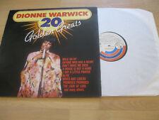 LP Dionne Warwick 20 Golden Greats Walk on By Vinyl  UN 1812009 Schallplatte