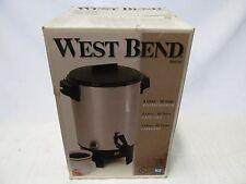 West Bend Coffee Percolator Maker Urn 30 Cup Made in USA 58030 EBMEZ02