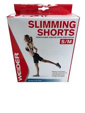 Weider Neoprene Weight Reducing Workout Shorts Small-Medium