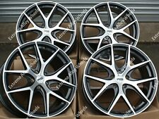 "19"" RS Alpha Alloy Wheels Fits Citroen C5 C6 C8 Peugeot Rcz 5X108"