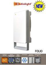 FOLIO 1800W Ultra Slim Energy Saving Bathroom Fan Heater Towel Warmer, Caravan