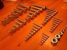 49 größen XXL M3 - M12 Werkstadt Sortiment Sechskantschrauben M4 M5 M6 M8 M10