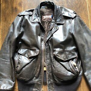 Schott, American, Pilot leather flight A-2 jacket