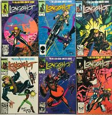 Longshot Complete Set Signed First Appearance 1st Art Adams Nocenti X-Men 1-6 NM