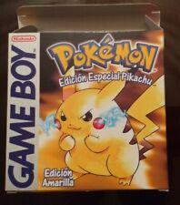 Pokemon Amarillo - Game boy -  PAL ESP - good condition