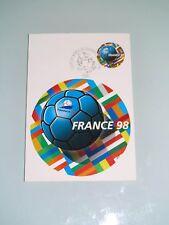 """Carte Postale Premier Jour """"Coupe de Monde 98"""" 1998"""