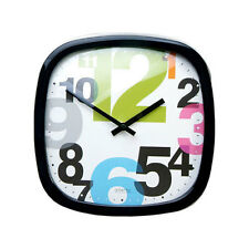 New JUNGBANG Modern Silent Wall Clock P206 BK-G _ Home Office Art Decor