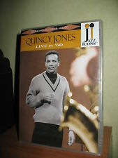 QUINCY JONES LIVE IN 60 DVD NUOVO SIGILLATO