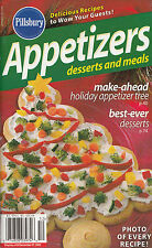 APPETIZERS, DESSERTS AND MEALS PILLSBURY COOKBOOK DECEMBER 2005 #298 XMAS TREE