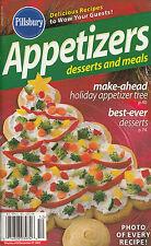 APPETIZERS, DESSERTS AND MEALS PILLSBURY COOKBOOK DECEMBER 2005 #298 XMAS TREE