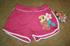GIRLS NICKELODEON DORA THE EXPLORER SLEEP / PAJAMA SHORTS - Size 6/6X (NWT)
