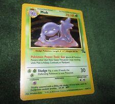 Pokemon MUK 13/62 Holo Rare Unlimited Edition Fossil Card (EX) TCG