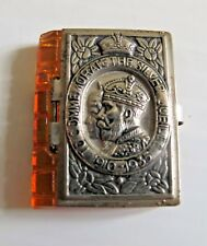 King George V Silver Jubilee Commemorative Miniature Photograph Book Royalty UK
