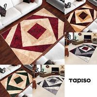 Kurzflor Teppich Mehrfarbig Geometrisch Modern Designer Teppiche ins Wohnzimmer