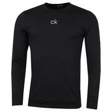 Calvin Klein Mens 2021 Printed Chest CK Logo Lightweight Training Top