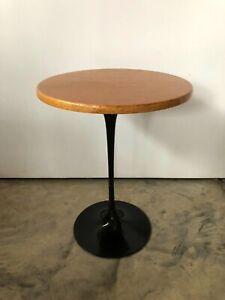 Eero Saarinen Tulip Style Side Table - Vintage