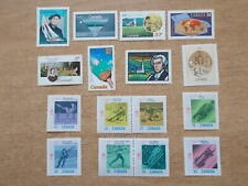 SMALL JOB LOT COLLECTION OF CANADA STAMPS - WINTER OLYMPICS ETC - LOT 1