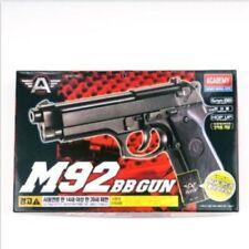 ACADEMY M92 Airsoft Pistol BB Gun 6mm & Spring,Hop Up System Toy