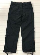 Snow Board Pants Turbine Boardwear Black Womens size M Black Cargo