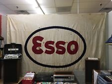 1930's Esso Tugboat Flag Petroliana Exxon maritime