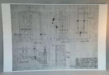 "Dark Shadows Blueprint 11""X17"" GLOSSY PRINT-DOORS DRAWING ROOM  -BONUS GIFT"