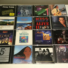 Various Music Compact Disc Cds Soundtracks, Rock, Easy Listening, Pop