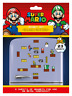 SUPER MARIO GAME PLAY 23 MAGNETS 2 SHEETS NEW 100% OFFICIAL