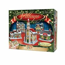 Wrebbit Panel Collection 3D Jigsaw Puzzle Christmas Village other Puzzles