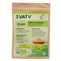 SVATV Amla-Pulver (Emblica officinalis / Amalaki) - EU-zertifiziert Organic 227g