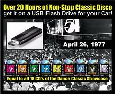 The Dance Classic Showcase Classic Disco Mix on USB Flash Drive