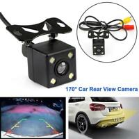 170°CCD Waterproof Night Vision Car Rear View Reverse Backup Parking Camera HD
