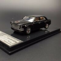 New 1/64 XCartoys China Red Flag Hongqi L5 Limousine car model Black W show base
