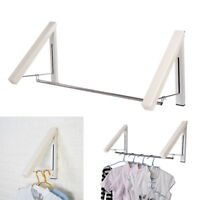 Pop Wall Hanger Clothes Organizer Retractable Laundry Folding Drying Rack Holder