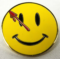 WATCHMEN Movie - TV - Comic Book Series Logo - Enamel Pin - Moore and Gibbons