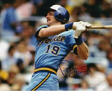 ROBIN YOUNT SIGNED AUTOGRAPHED 8X10 REPRINT PHOTO MAN CAVE CHRISTMAS BREWERS