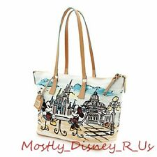 Walt Disney World D23 Ex Dooney & Bourke Bag Parks Castle Shopper Bag Purse Tote