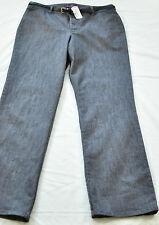 women's Gloria Vanderbilt size 12 casual fit LT black four pockets belt msrp $40