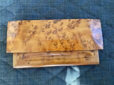 Vintage Writing Desktop Tidy. Pen Rest And Box- wooden