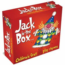 Jack in The Box - Children's First Play Rhymes New & Sealed 3 CD Box Set Kids