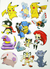 A5 Size Pokemon Go Skateboard Luggage Laptop Bike Phone Vinyl Stickers S1134