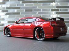 1/24 Jada red Big Time Muscle Dodge Charger SRT8