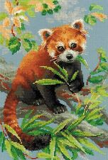 RIOLIS 1627  Red Panda  Kit  broderie  Point de Croix  Compté