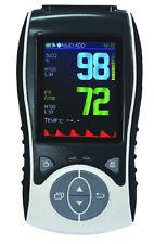 Handheld-Pulsoximeter MS600 mit beleuchtetem TFT-Display