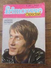 FRIMOUSSE CAPUCINE N°250 JACQUES DUTRONC 1969