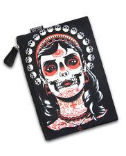 Liquor Brand Kali Crânes tattoo Make Up sac pochette sac à main Trousse Nouveau UK