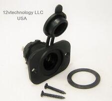 Marine Grade 12 V Accessory Lighter Socket Jack Plug  Power Outlet Panel Dash