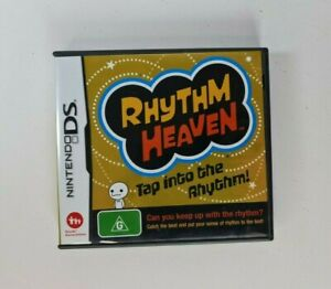 2009 Nintendo DS Rhythm Heaven Game AUS PAL Tap Into The Rhythm! Tsunku